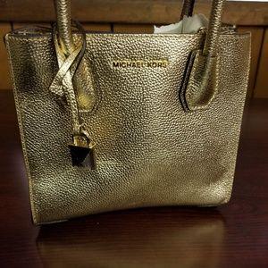 Michael Kors gold bag